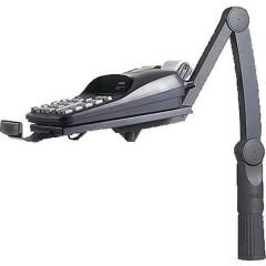 TSA Braccio portatelefono orientabile Inclinabile, Girevole Nero 1 pz.