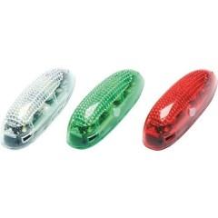 Luci di posizione a LED Bianco, Verde, Rosso lampeggianti