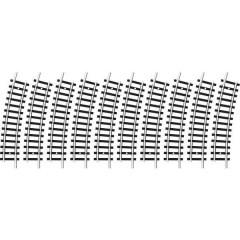 N Minitrix Binario curvo 15 ° 261.8 mm
