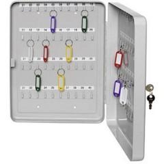 Cassetta porta chiavi Numero di ganci 30 Grigio luminescente