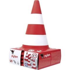 piloni, kit da 4 pz. bianco/rosso