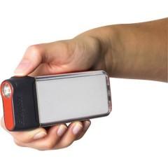 Compact 2in1 LED (monocolore) Luce da campeggio 60 lm a batteria 82 g Grigio scuro, Arancione