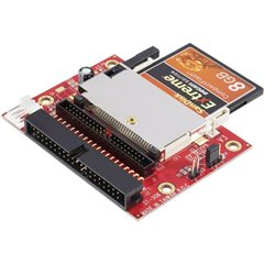 Convertitore di interfaccia [1x Spina CompactFlash a 50 poli - 2x Spina IDE a 40 poli, Spina IDE a 44 poli]