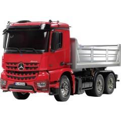 Mercedes Benz Arocs 3348 Hinterkipper 1:14 Elettrica Camion modello In kit da costruire