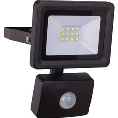 LED 10W Optiline Bewegungsmelder Lampada LED da parete con rilevatore di movimento LED (monocolore) 10 W