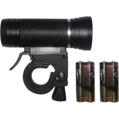 Fanale anteriore LED (monocolore) a batteria Nero