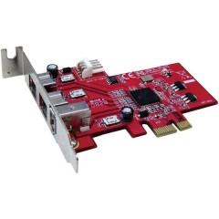 Scheda controller FireWire 800 3 Porte PCIe