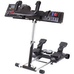 Saitek Pro Flight Yoke System Supporto per volante Nero