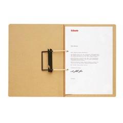 Fascicolo con gancio Marrone naturale Tipo di pinzatura: pinzatura commerciale, punto tubolare 250 gm² 1