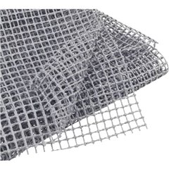 Tappetino antiscivolo (L x L) 120 cm x 100 cm Grigio
