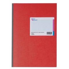 Kladde Taccuino quadretti Rosso Numero di fogli: 48 DIN A4