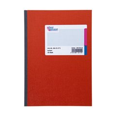 Kladde Taccuino quadretti Rosso Numero di fogli: 48 DIN A5