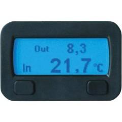 Termostato Funzione termostato, Struttura, Da incasso, Temperatura interna, Temperatura esterna, Allarme