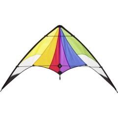 Aquilone acrobatico Orion Rainbow Larghezza estensione 1200 mm Intensità del vento 3 - 5 bft
