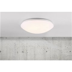 Ask Lampada LED a soffitto per esterni con rilevatore di movimento 18 W Bianco