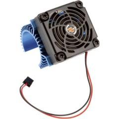 Dissipatore per motore con ventola Adatto per: Motore elettrico 540er Blu (metallizzato)