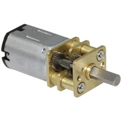 Micro motoriduttore G 298 Ingranaggi di metallo 1:298 8 - 80 giri/min