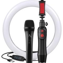 iRig Video Creator HD Bundle a gelato Microfono portatile Tipo di trasmissione:Cablato incl. morsetto,