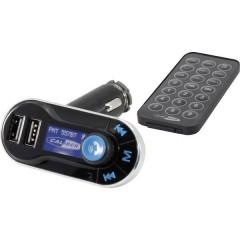 PMT 557BT Trasmettitore FM incl. vivavoce, con telecomando