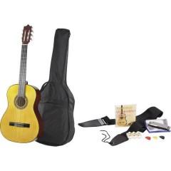 C22 Kit chitarra classica 4/4 Naturale Incl. Custodia