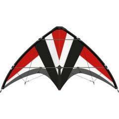 Aquilone acrobatico Whisper 125 GX Larghezza estensione 1250 mm Intensità del vento 4 - 7 bft