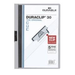 Cartellina con clip DURACLIP 30 - 2200 DIN A4 Grigio