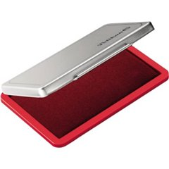 Cuscinetto inchiostro per timbri 2 110 x 70 mm (L x A) Rosso 1 pz.