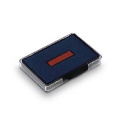 Cuscinetto per timbri manuali 6/56/2 56 x 33 mm (L x A) Blu-rosso 2 pz.