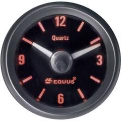Orologio al quarzo analogico Strumento da incasso 4 LED Blu, Verde, Giallo, Rosso 52 mm