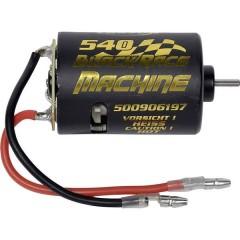 540 Black Race Machine Motore elettrico brushed per automodelli