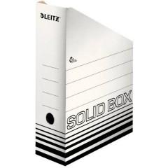 SOLID 4607 Porta riviste DIN A4 Bianco, Nero Cartone 1 pz.