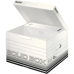Contenitore per archivio Cartone Bianco, Nero 10 pz.