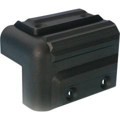 Angolo per altoparlante (L x L) 83 mm x 52 mm Plastica 1 pz.