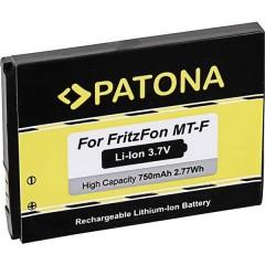BD-50 Batteria ricaricabile per telefono cordless Adatto per marchi: AVM, Motorola Li-Ion 3.7 V 750 mAh