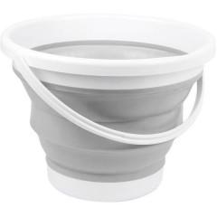 Secchio pieghevole outdoor Plastica, Silicone bucket 10L
