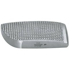 259 - GEDORE - Tasso curvo zigrinato 125x55x25 mm