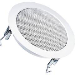 Altoparlante da incasso PA DL 18/2 70 W 100 V Bianco 1 pz.