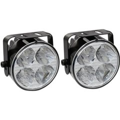 Luce di marcia diurna LED (monocolore) (Ø x P) 70 mm x 53 mm