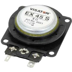 EX 45 S Altoparlante Exciter 10 W 8 Ω 1 pz.