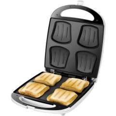 Quadro Piastra per sandwich pieghevole Bianco, Nero