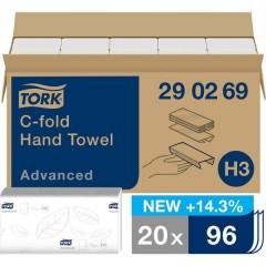 Asciugamani di carta Bianco 20 Pz/Conf 20 pz.