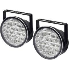 Luce di marcia diurna LED (monocolore) (Ø x P) 90 mm x 36 mm