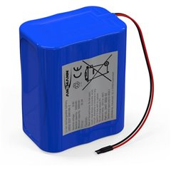 Pacco batteria 6x 18650 3S2P con cavo Li-Ion 11.1 V 5200 mAh