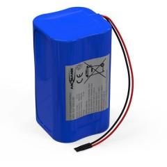Pacco batteria 4x 18650 4S1P con cavo Li-Ion 14.8 V 2600 mAh
