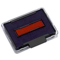 Cuscinetto per timbri manuali 6/50/2 41 x 24 mm (L x A) Blu, Rosso 2 pz.