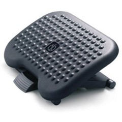 footness comfort Poggiapiedi (L x P) 460 mm x 360 mm ergonomica, Regolabile in altezza,