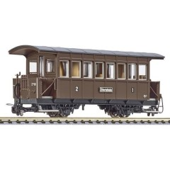 Vagone passeggeri H0e ABI/s della ferrovia Zillertal