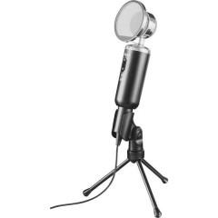 Madell Desk Microfono per PC Nero Cablato