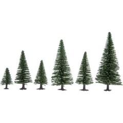 Hobby Kit alberi abete 50 fino a 140 mm Verde scuro 25 pz.