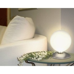Tila Lampada da tavolo Lampadina Alogena G9 28 W Acciaio